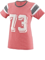 "Girls ""Fanatic"" Football Fan Jersey A3014FB"