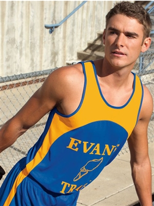 "Youth ""Velocity"" Moisture Wicking Track Singlet A341T"