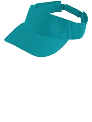 """Home Run"" Cotton Twill Softball Visor A6225-6226SOF"
