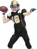 "Adult/Youth ""Tight Fit Singleback"" Mesh Football Set with Integrated Pants A9580-9581FB-SET"