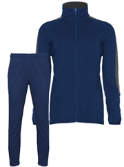 "Womens/Girls ""District"" Full Zip Unlined Warm Up Set BGR792100-272100WU-SET"