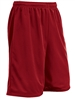 "Adult 9"" Inseam ""Zone"" Tricot Mesh Flag Football Shorts CBBT9AFFB"