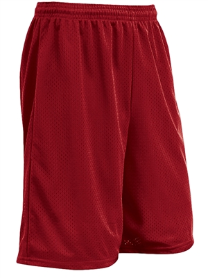 "Youth 7"" Inseam ""Zone"" Tricot Mesh Flag Football Shorts CBBT9YFFB"