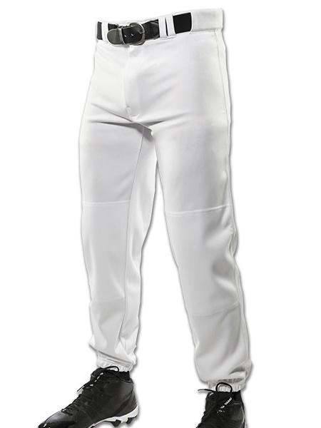 c601ff0e8bf Traditional Fit Elastic Bottom Ankle Length Baseball Pant CBP9YBAS
