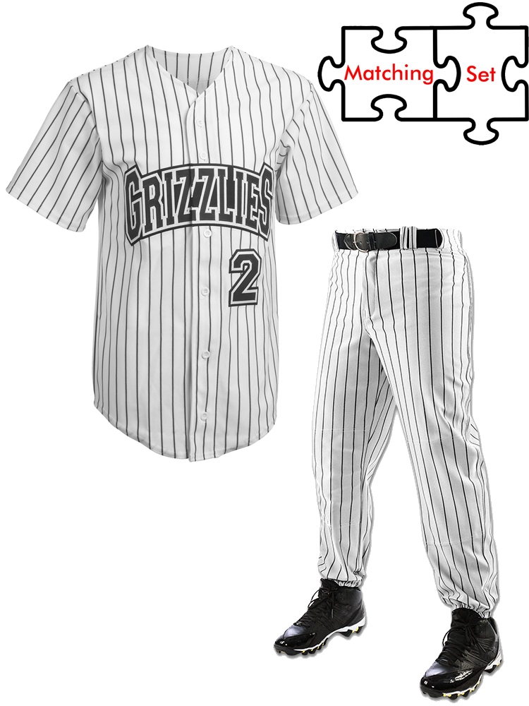 Baseball sets youth uniform Baseball Uniforms