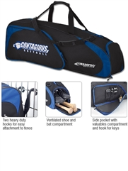 Player's Bat Duffel Bag with Fence Hooks CE30BAG