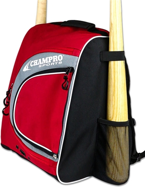"Premium Bat Backpack CE77BAG ( 16""H x 12""W x 8""D )"