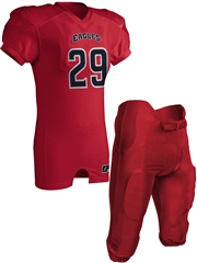 "Adult/Youth ""Triple Option"" Mesh Football Set with Integrated Pants CFJ29A-FJ29YFB-SET"