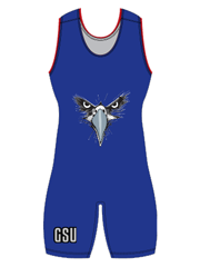 "Womens ""Solid"" Custom Sublimated Wrestling Singlet"
