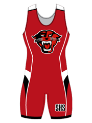 "Womens ""Finish"" Custom Sublimated Wrestling Singlet"