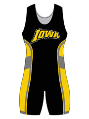 "Womens ""Escape"" Custom Sublimated Wrestling Singlet"