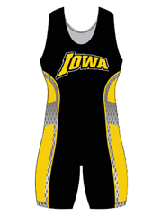 "Womens ""Escape Blitz"" Custom Sublimated Wrestling Singlet"