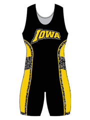 "Womens ""Escape Wrecked"" Custom Sublimated Wrestling Singlet"