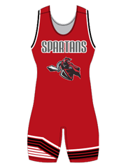 "Womens ""Defeated"" Custom Sublimated Wrestling Singlet"