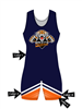 "Adult/Youth ""Striker"" Custom Sublimated Wrestling Singlet"