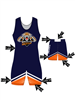 "Adult/Youth ""Striker"" Custom Sublimated Wrestling Singlet with Grappler Shorts"