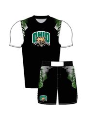 "Adult/Youth ""Overhook"" Custom Sublimated Compression Shirt with Grappler Shorts"
