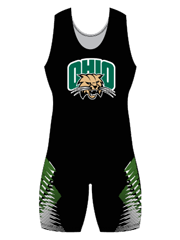 "Womens ""Overhook"" Custom Sublimated Wrestling Singlet"