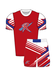"Adult/Youth ""United"" Custom Sublimated Compression Shirt with Grappler Shorts"