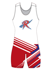 "Womens ""United"" Custom Sublimated Wrestling Singlet"