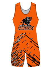 "Womens ""Pin"" Custom Sublimated Wrestling Singlet"