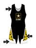 "Adult/Youth ""Half Nelson"" Custom Sublimated Wrestling Singlet"