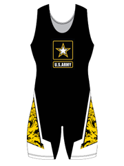 "Womens ""Half Nelson"" Custom Sublimated Wrestling Singlet"