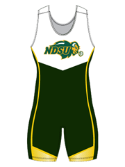 "Womens ""Advantage"" Custom Sublimated Wrestling Singlet"