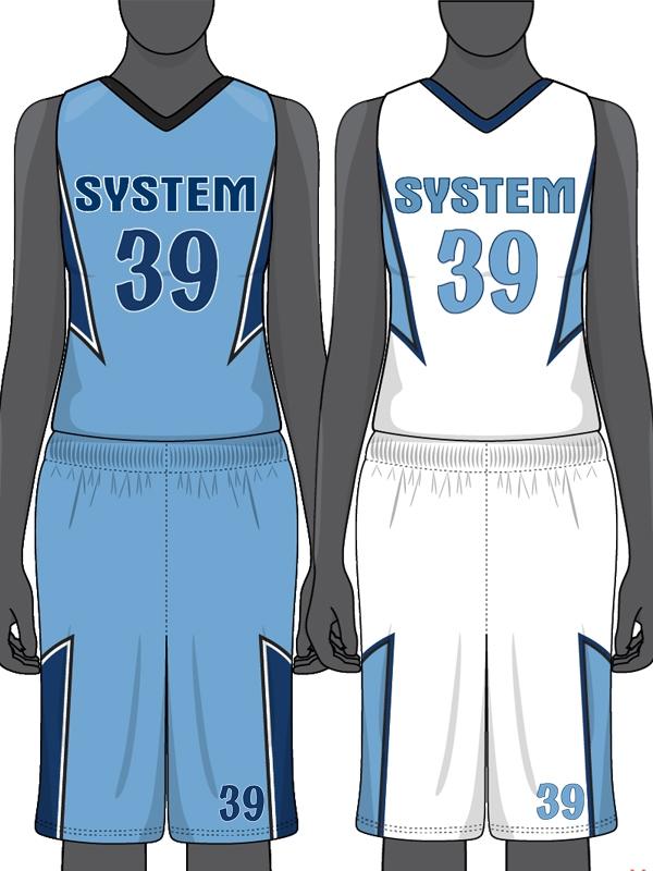 Custom Sublimated Reversible Basketball Uniform Set a4ae2994a