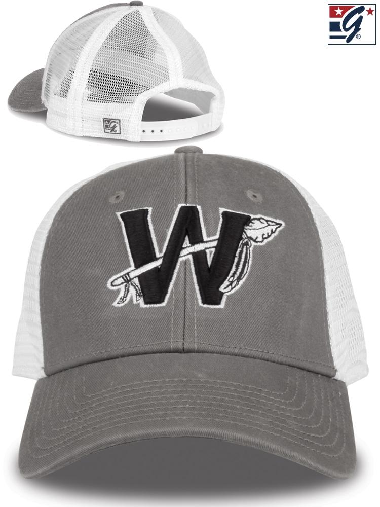 90c1184e4a7 Baseball Cap w  Your Team Logo GB413BAS-C