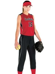"Womens/Girls ""Dynamite"" Softball Uniform Set With Pants H312162-312163SOF-SETP"