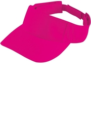 Sport Twill Softball Visor H319760-319761SOF