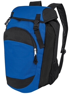 "Dual Color Sport Backpack H327870BAG ( 19""H x 11""W x 11""D )"