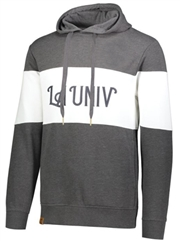 "Adult ""Heathered Campus"" Fleece Hoodie HL229563SWT"