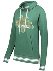 "Womens ""Heathered Campus"" Fleece Hoodie HL229763SWT"