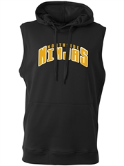 "Adult ""Strength"" Sleeveless Performance Fleece Hoodie N4002SWT"