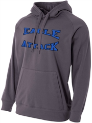 "Adult ""Big Play"" Performance Fleece Hoodie N4237SWT"