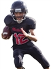"Adult/Youth ""Cornerback"" Mesh Football Set with Integrated Pants N4242-NB4242FB-SET"