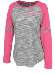 "Womens ""Heathered Spectator"" Lightweight Football Fan Jersey P5211FB"