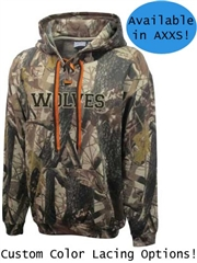 "Adult ""Dual Attack Camo"" Performance Fleece Hoodie P715CSWT"