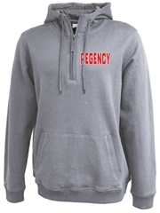 "Adult ""Defy"" 1/4 Zip Performance Fleece Hoodie P7255SWT"