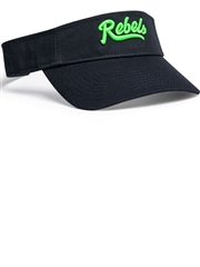 Cotton Hook-and-Loop Softball Visor PH505VSOF