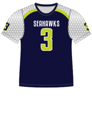 "Quick Ship Custom Program - Adult/Youth/Womens ""Strong Side Blitz"" Custom Flag Football Crew Neck Jersey"