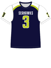 "Quick Ship Custom Program - Adult/Youth/Womens ""Strong Side"" Custom Flag Football Crew Neck Jersey"