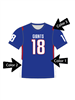 "Quick Ship Custom Program - Adult/Youth/Womens ""User Pick"" Custom Flag Football Crew Neck Set"