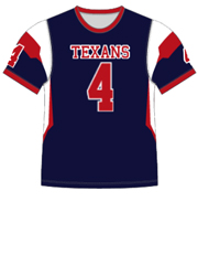 "Quick Ship Custom Program - Adult/Youth/Womens ""Play Action"" Custom Flag Football Crew Neck Jersey"
