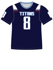 "Quick Ship Custom Program - Adult/Youth/Womens ""Collapse"" Custom Flag Football Crew Neck Jersey"