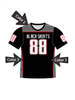 "Quick Ship Custom Program - Adult/Youth/Womens ""Wreck"" Custom Flag Football Crew Neck Jersey"