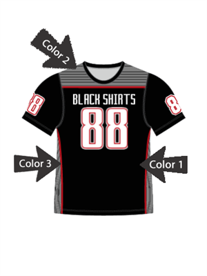 "Quick Ship Custom Program - Adult/Youth/Womens ""Wreck"" Custom Flag Football Crew Neck Set"