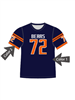 "Quick Ship Custom Program - Adult/Youth/Womens ""Clutch"" Custom Flag Football Crew Neck Jersey"